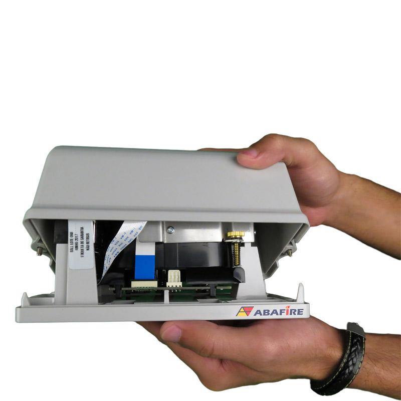 Detector de Fumaça Linear (Reflexive Beam Detector) Convencional e Autônomo com Saída Relé NA e NF, código C9105R - Imagem 07