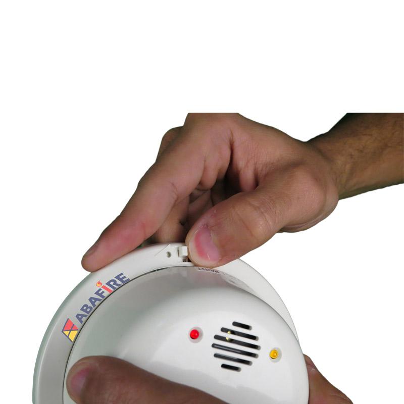 Detector de Chama Pontual Ultravioleta (UV Flame Detector) Tipo Convencional e Autônomo com Sirene Interna e Saída Relé NA/NF. código FS2000 - Imagem 02