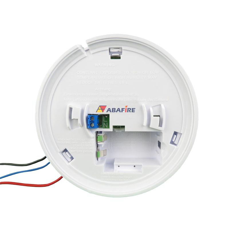 Detector pontual de fumaça autônomo com saída relé NA/NF (Stand alone smoke detector with relay NO/NC) código AFDFAR - Imagem 10