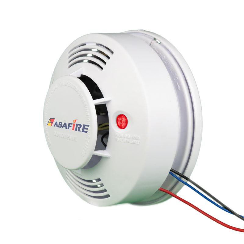 Detector pontual de fumaça autônomo com saída relé NA/NF (Stand alone smoke detector with relay NO/NC) código AFDFAR - Imagem 08