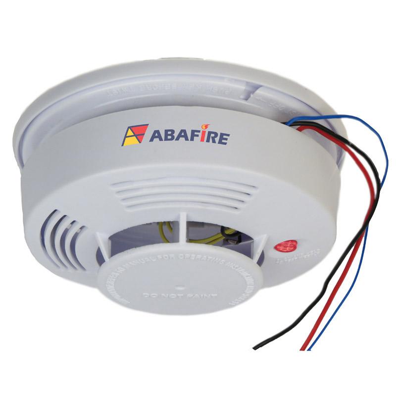 Detector pontual de fumaça autônomo com saída relé NA/NF (Stand alone smoke detector with relay NO/NC) código AFDFAR - Imagem 03