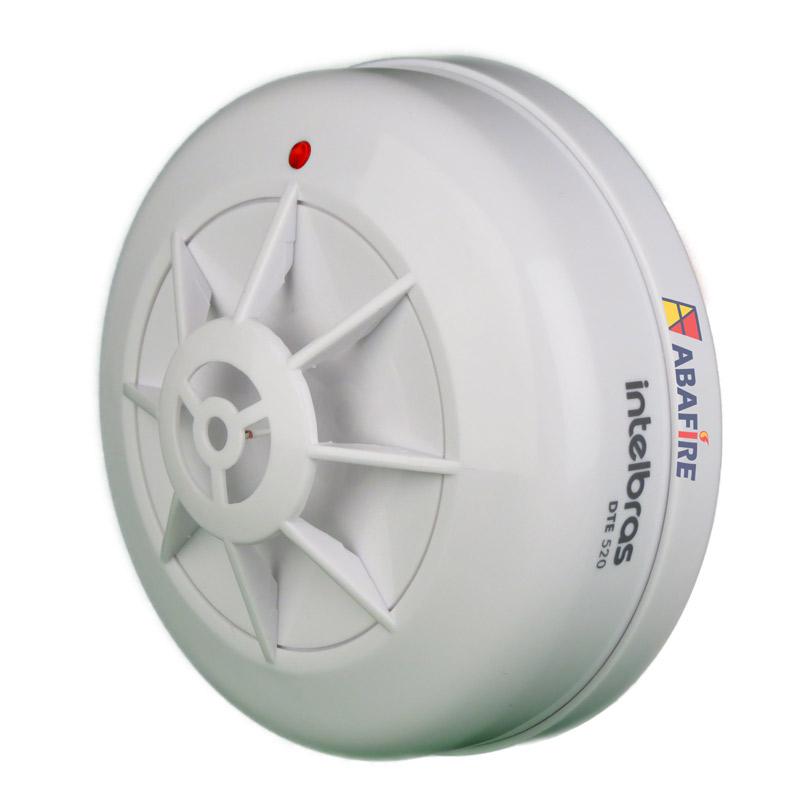 Detector Pontual de Temperatura Fixa Tipo Endereçável (Addressable Fixed Heat Detector) código DTE520 próprio para Centrais CIE Intelbras - Imagem 07