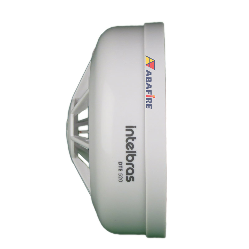 Detector Pontual de Temperatura Fixa Tipo Endereçável (Addressable Fixed Heat Detector) código DTE520 próprio para Centrais CIE Intelbras - Imagem 06