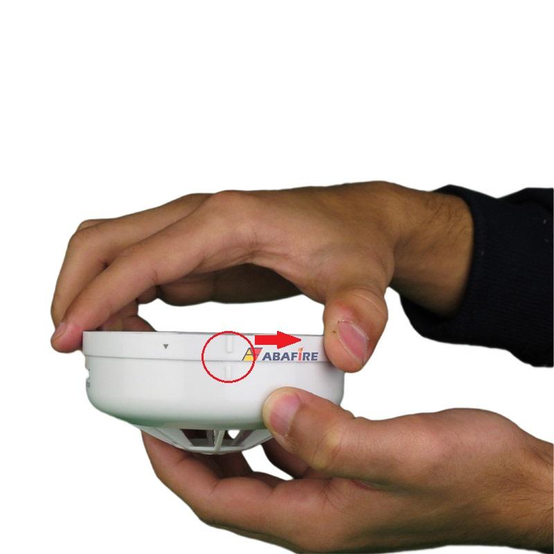 Detector Pontual de Temperatura Fixa Tipo Endereçável (Addressable Fixed Heat Detector) código DTE520 próprio para Centrais CIE Intelbras - Imagem 05