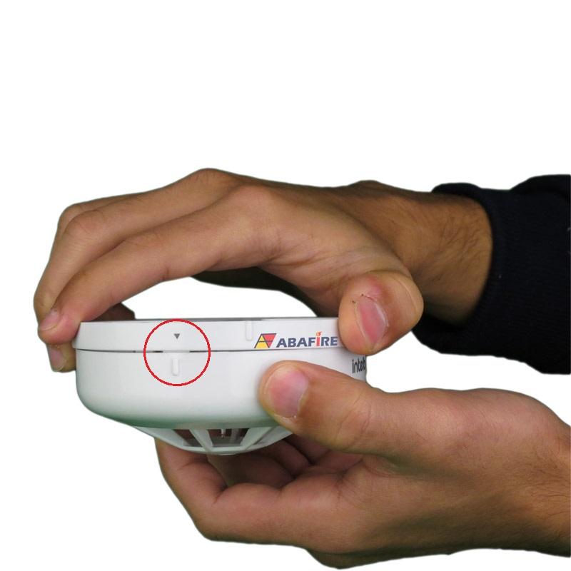 Detector Pontual de Temperatura Fixa Tipo Endereçável (Addressable Fixed Heat Detector) código DTE520 próprio para Centrais CIE Intelbras - Imagem 04
