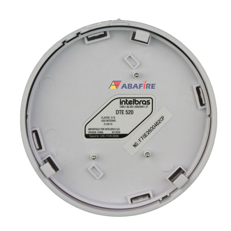 Detector Pontual de Temperatura Fixa Tipo Endereçável (Addressable Fixed Heat Detector) código DTE520 próprio para Centrais CIE Intelbras - Imagem 01