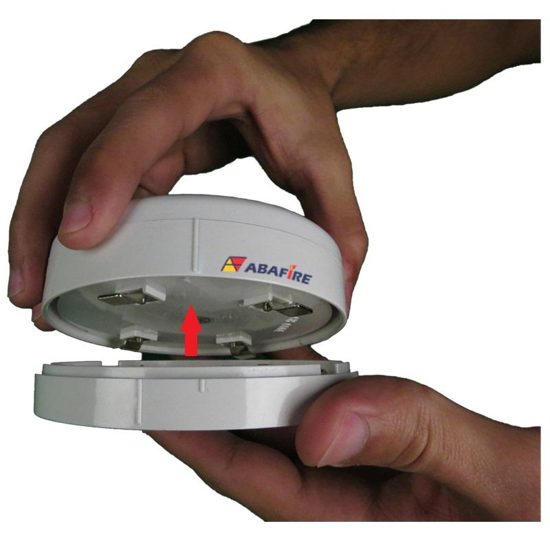 Detector Pontual de Temperatura e Termovelocimétrico Convencional com relé NA (Fixed and Heat of Rise Conventional Detector With Relay NO) código AFDTV - Imagem 10