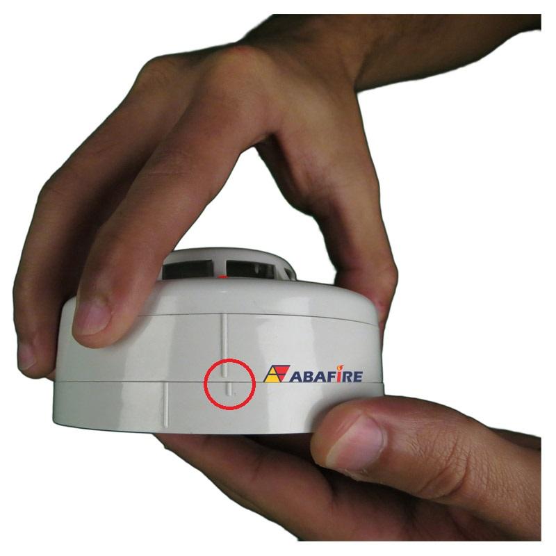 Detector Pontual de Temperatura e Termovelocimétrico Convencional com relé NA (Fixed and Heat of Rise Conventional Detector With Relay NO) código AFDTV - Imagem 09