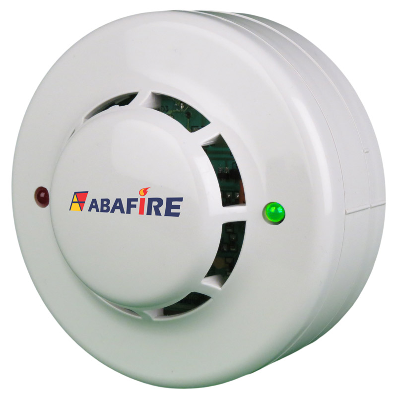 Detector Pontual de Temperatura e Termovelocimétrico Convencional com relé NA (Fixed and Heat of Rise Conventional Detector With Relay NO) código AFDTV - Imagem 01