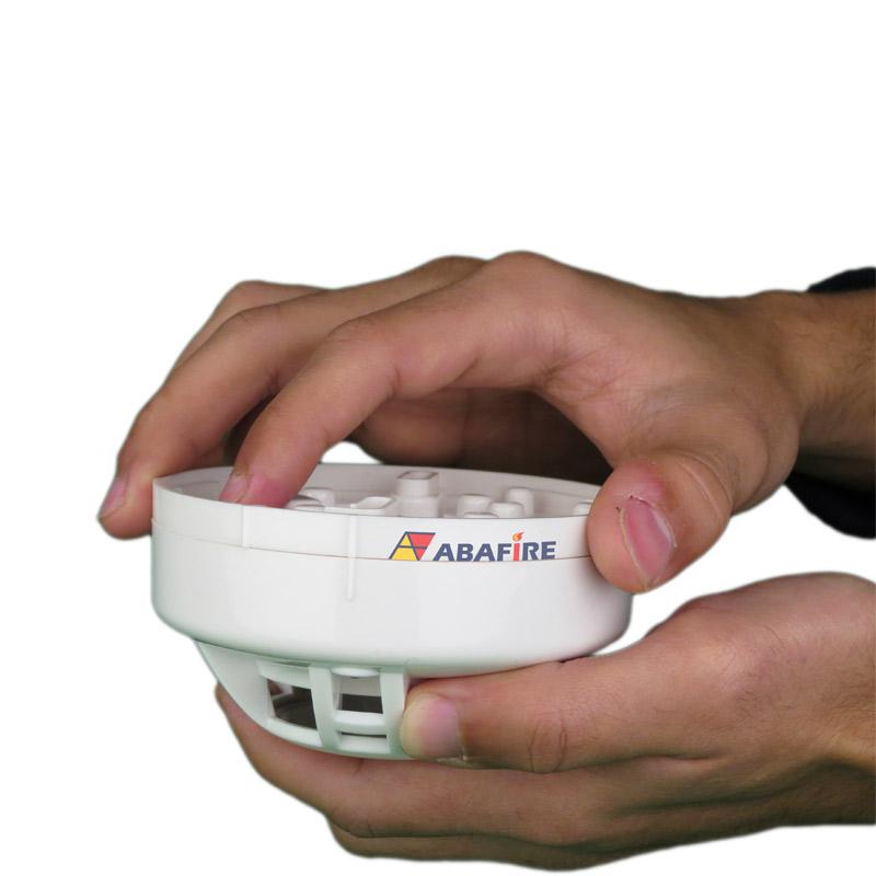 Detector Pontual de Vazamento de Gás GLP ou Gás GN com módulo endereçável, código AFDG3E - Imagem 06