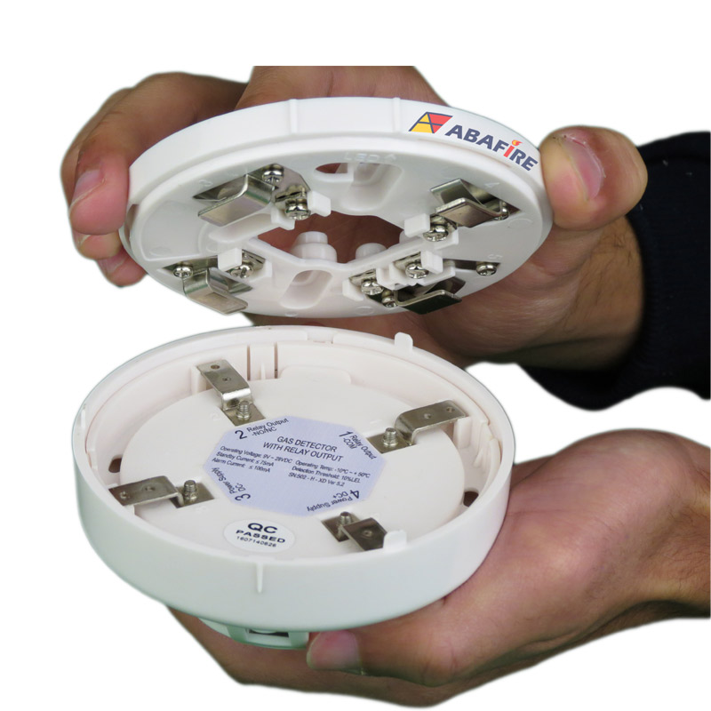 Detector Pontual de Vazamento de Gás GLP ou Gás GN com módulo endereçável, código AFDG3E - Imagem 08
