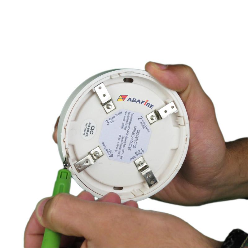 Detector Pontual de Vazamento de Gás GLP ou Gás GN com módulo endereçável, código AFDG3E - Imagem 09