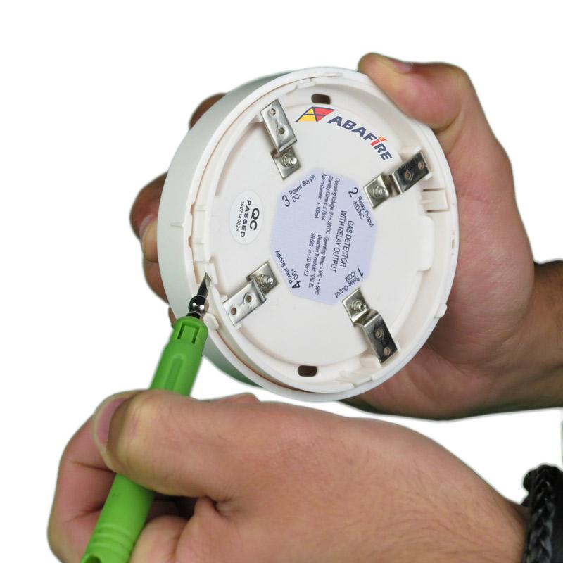 Detector Pontual de Vazamento de Gás GLP ou Gás GN com módulo endereçável, código AFDG3E - Imagem 11