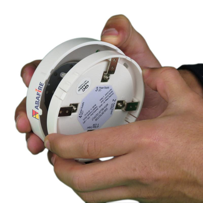 Detector Pontual de Vazamento de Gás GLP ou Gás GN com módulo endereçável, código AFDG3E - Imagem 12