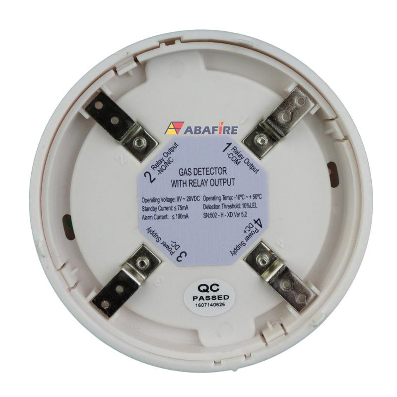 Detector Pontual de Vazamento de Gás GLP ou Gás GN com módulo endereçável, código AFDG3E - Imagem 14