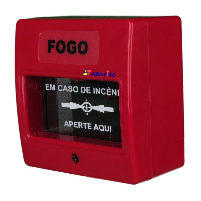 Botoeira e Acionador Manual Convencional (Convencional Call Point) código AFAM2. Ideal para Central de Alarme de Incêndio. Imagem 03
