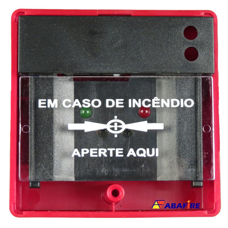 Botoeira e Acionador Manual Convencional (Convencional Call Point) código AFAM2. Ideal para Central de Alarme de Incêndio. Imagem 16