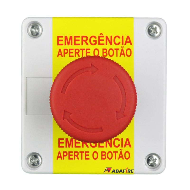 Acionador Manual e Botoeira de Emergência Wireless (Sem Fio) Para Sanitário de Portadores de Necessidades Especiais (PNE) código AFAMPNEW - Imagem 01