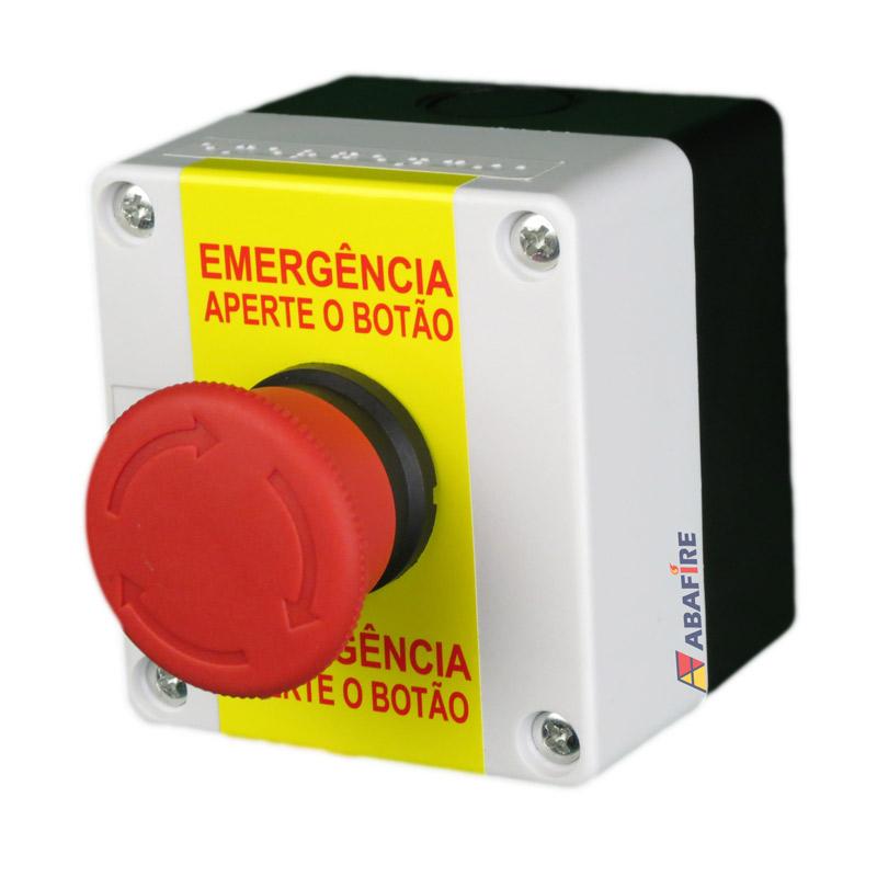 Acionador Manual e Botoeira de Emergência Wireless (Sem Fio) Para Sanitário de Portadores de Necessidades Especiais (PNE) código AFAMPNEW - Imagem 02