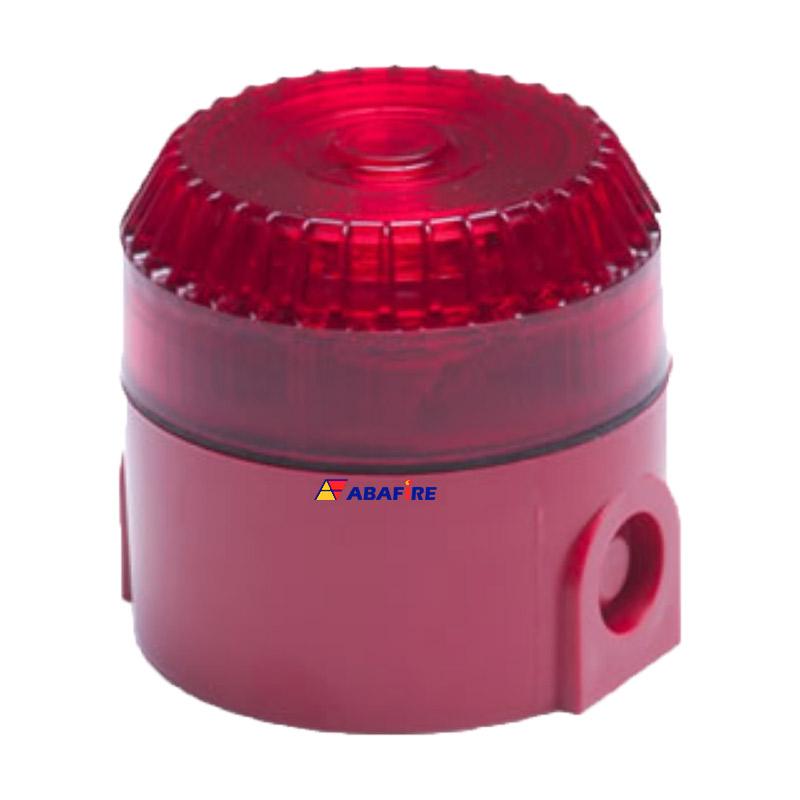 Sirene Audiovisual / Alarme Sonoro e Visual Tipo Multitom com 12 Toques Diferentes e Tensão de 12/24 Volts codigo AFSVFMT - Imagem 01