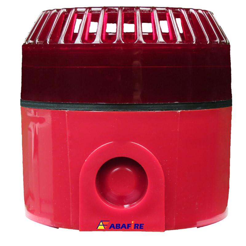 Sirene Audiovisual / Alarme Sonoro e Visual Para Áreas Externas (IP55) Tipo Estrobo com Tensão de 24 Volts codigo AFSVFPT - Imagem 04