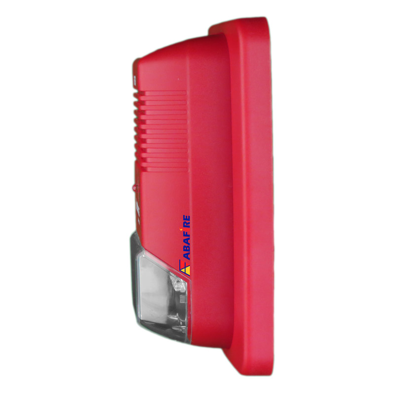 Sirene Audiovisual de Alarme de Incêndio Endereçável em Centrais CIE da Intelbras com Flashes de LED e 2 Tipos de Toques, código SAV520E - Imagem 03