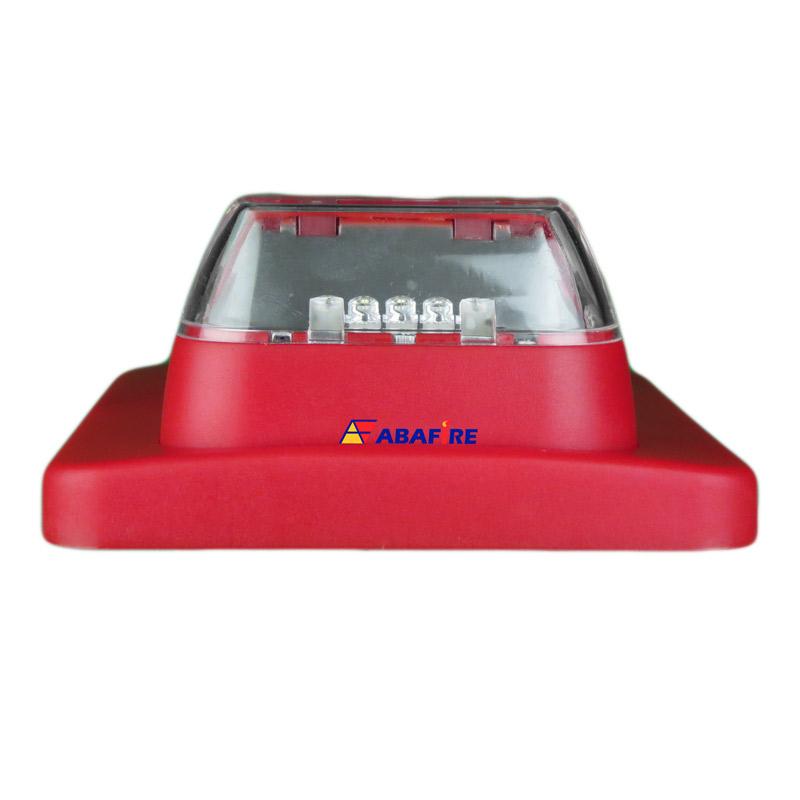 Sirene Audiovisual de Alarme de Incêndio Endereçável em Centrais CIE da Intelbras com Flashes de LED e 2 Tipos de Toques, código SAV520E - Imagem 04
