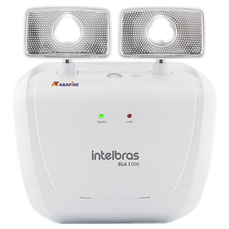 Bloco Autônomo de Iluminação de Emergência com Dois Farois de LED e 1000 Lumens Código BLA1000