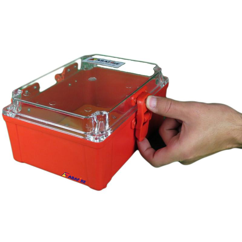 Caixa de Proteção IP65 Para Abrigar Acionadores Manuais e Botoeiras Em Áreas Externas (À Prova de Tempo), código AFCXIP65 - Imagem 05