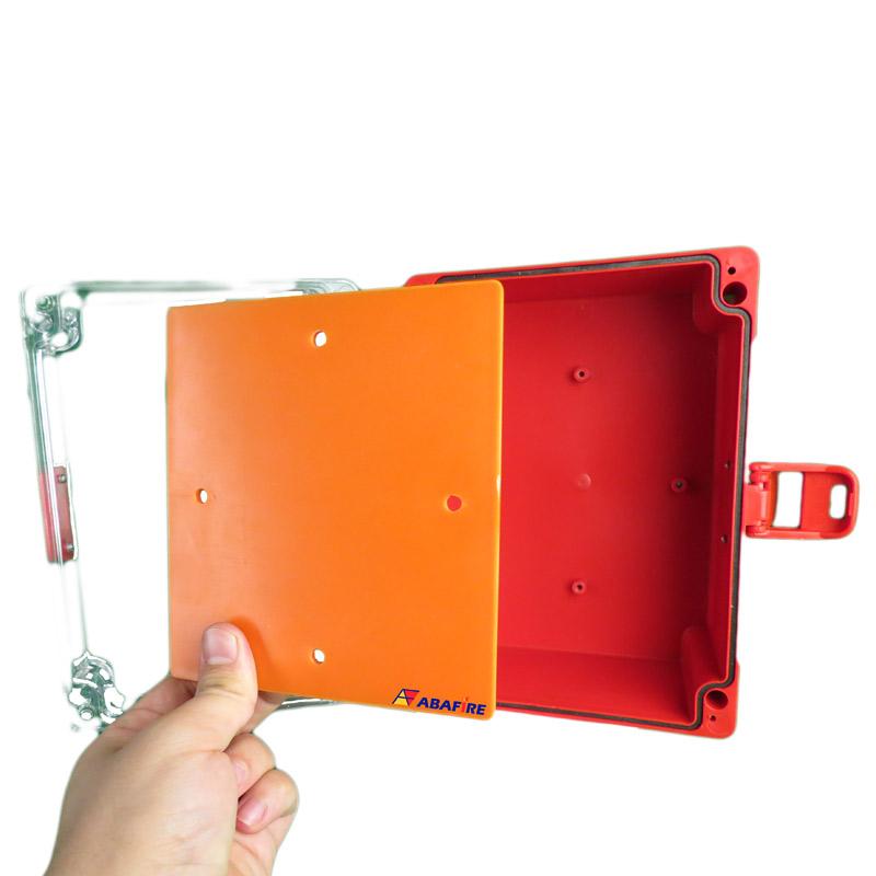 Caixa de Proteção IP65 Para Abrigar Acionadores Manuais e Botoeiras Em Áreas Externas (À Prova de Tempo), código AFCXIP65 - Imagem 09