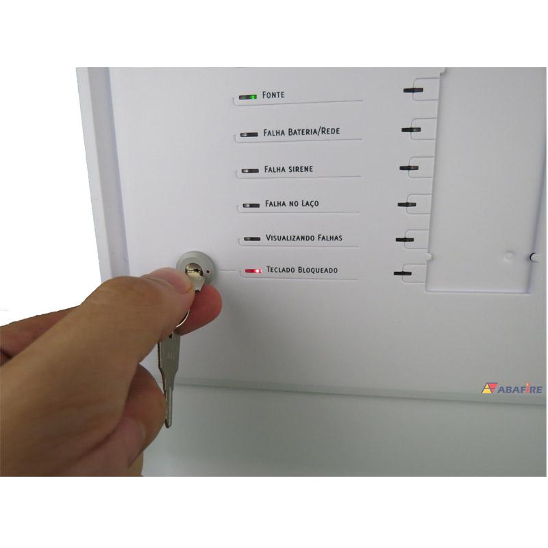 Central de Alarme de Incêndio com 24 Laços (Endereços) do Tipo Convencional, código CIC24L - Imagem 04
