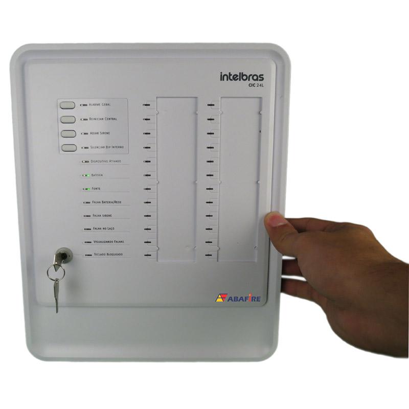 Central de Alarme de Incêndio com 24 Laços (Endereços) do Tipo Convencional, código CIC24L - Imagem 06