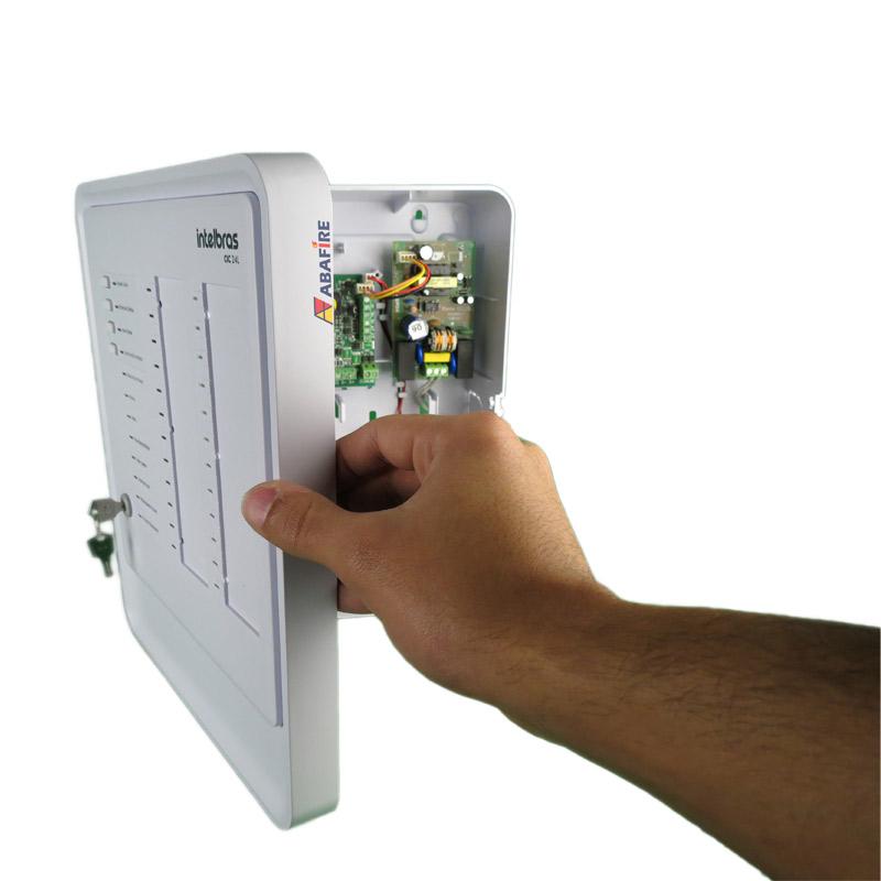 Central de Alarme de Incêndio com 24 Laços (Endereços) do Tipo Convencional, código CIC24L - Imagem 07