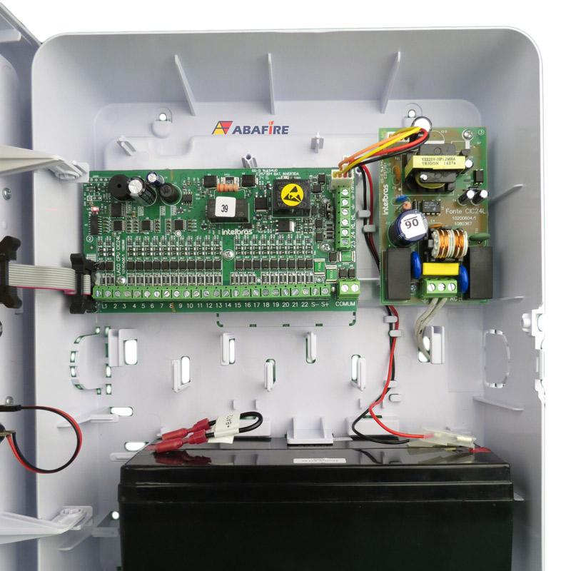 Central de Alarme de Incêndio com 24 Laços (Endereços) do Tipo Convencional, código CIC24L - Imagem 10