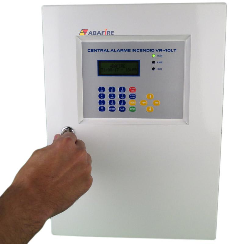 Central de Alarme de Incêndio Convencional de 40 Laços e Visor de LCD, código AFVR40LTS - Imagem 05