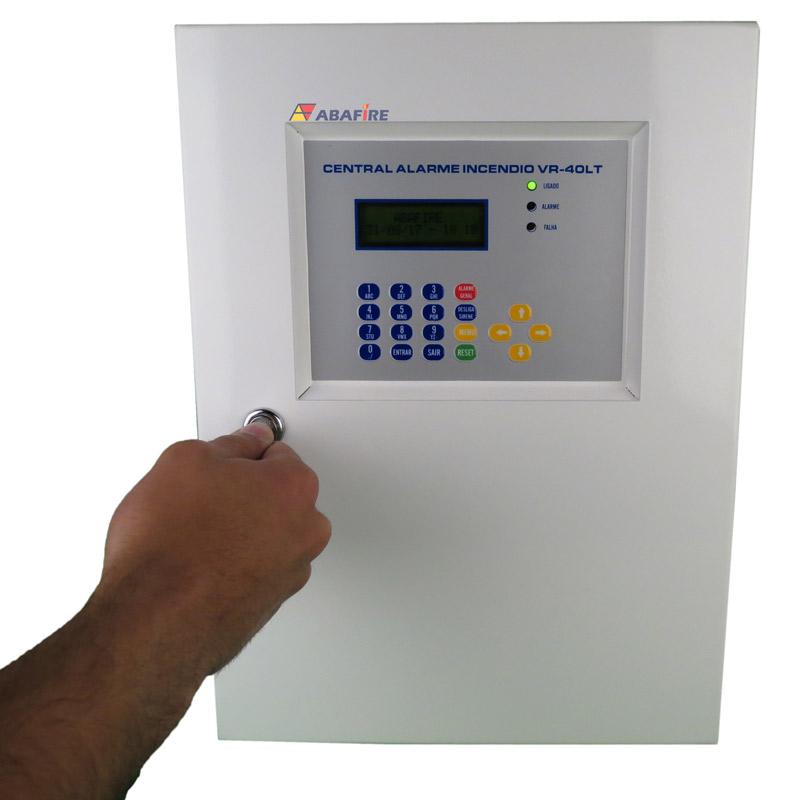 Central de Alarme de Incêndio Convencional de 40 Laços e Visor de LCD, código AFVR40LTS - Imagem 06