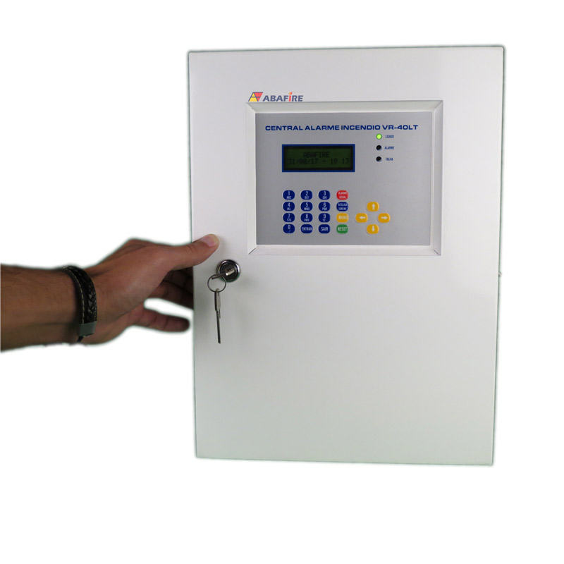 Central de Alarme de Incêndio Convencional de 40 Laços e Visor de LCD, código AFVR40LTS - Imagem 07