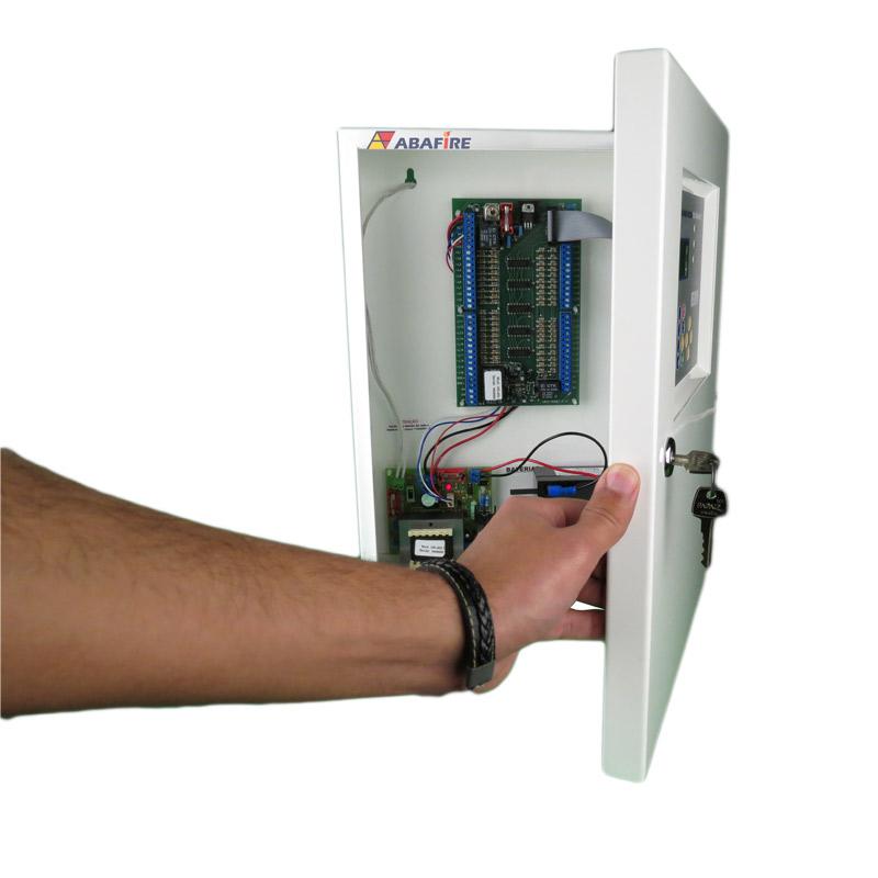 Central de Alarme de Incêndio Convencional de 40 Laços e Visor de LCD, código AFVR40LTS - Imagem 10