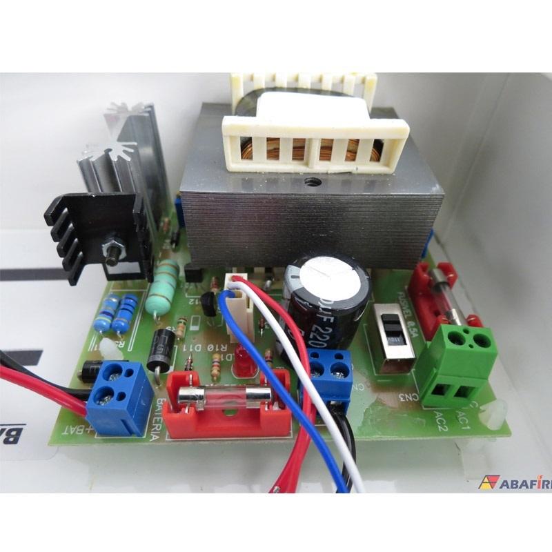 Central de Alarme de Incêndio Convencional de 40 Laços e Visor de LCD, código AFVR40LTS - Imagem 14