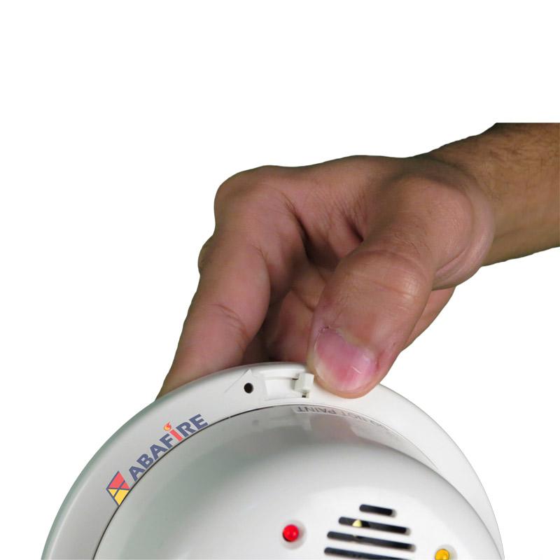 Detector Pontual de Chama Ultravioleta (UV Flame Detector) com módulo endereçável e saída relé NA/NF, código FS2000E - Imagem 03