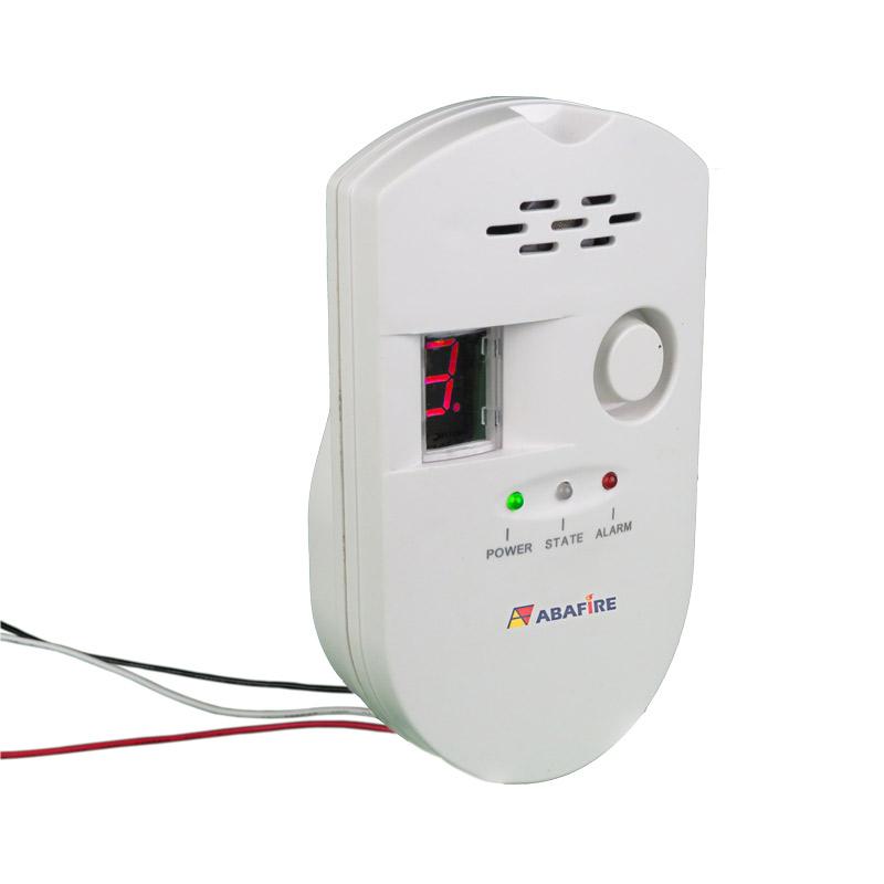 Detector pontual de vazamento de gás GLP e Gás Natural com módulo endereçável e saída relé NA/NF, código AFDG2E - Imagem 05