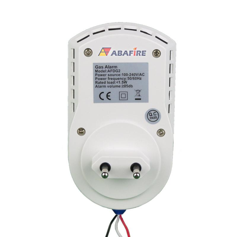 Detector pontual de vazamento de gás GLP e Gás Natural com módulo endereçável e saída relé NA/NF, código AFDG2E - Imagem 04