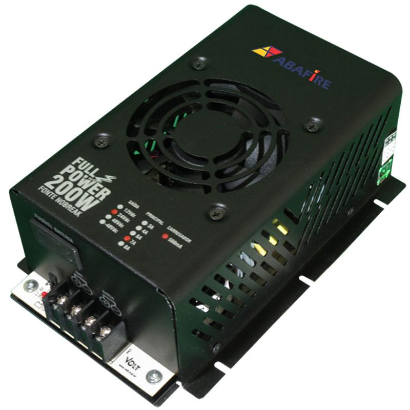 Fonte de Energia nobreak Ininterrupta Tensão 24 Volts e Corrente de 7 Amperes, código: AFFONTE24-7 - Imagem 04