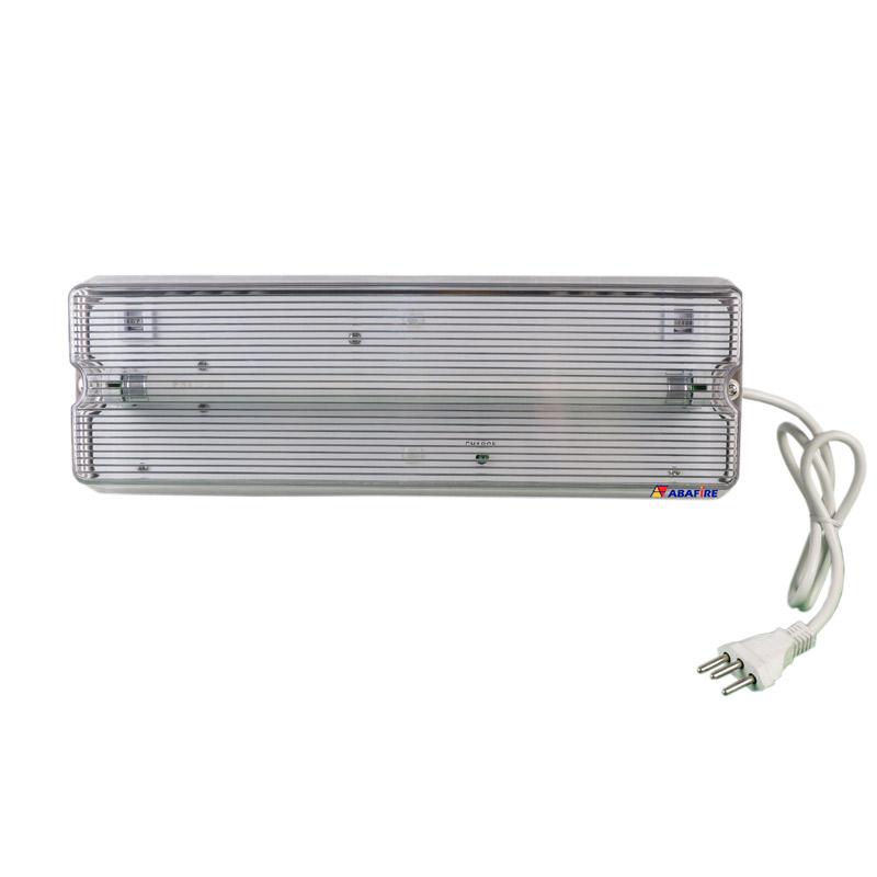 Luminária de Emergência Para Área Externa à Prova de Tempo IP65 com Uma Lâmpada Fluorescente de 8 Watts código AFMAC8IP - Imagem 01