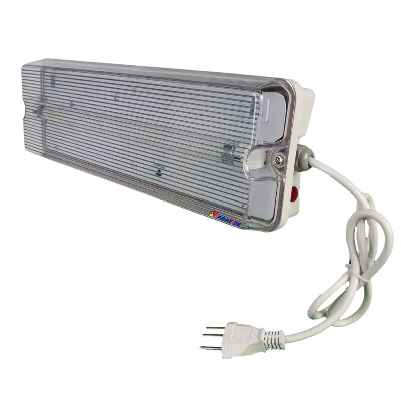 Luminária de Emergência Para Área Externa à Prova de Tempo IP65 com Uma Lâmpada Fluorescente de 8 Watts código AFMAC8IP - Imagem 02