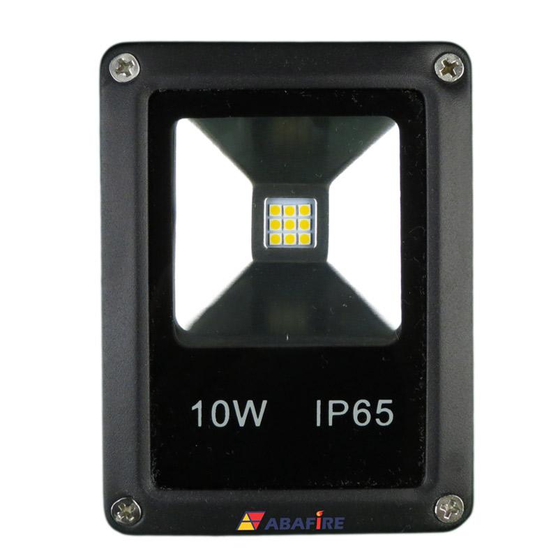 Refletor Projetor de LED com 12 Volts, 10 Watts e 1000 Lumens, Tipo Farol, código AFPROJLED12, Para Centrais de Iluminação de Emergência. Imagem 02