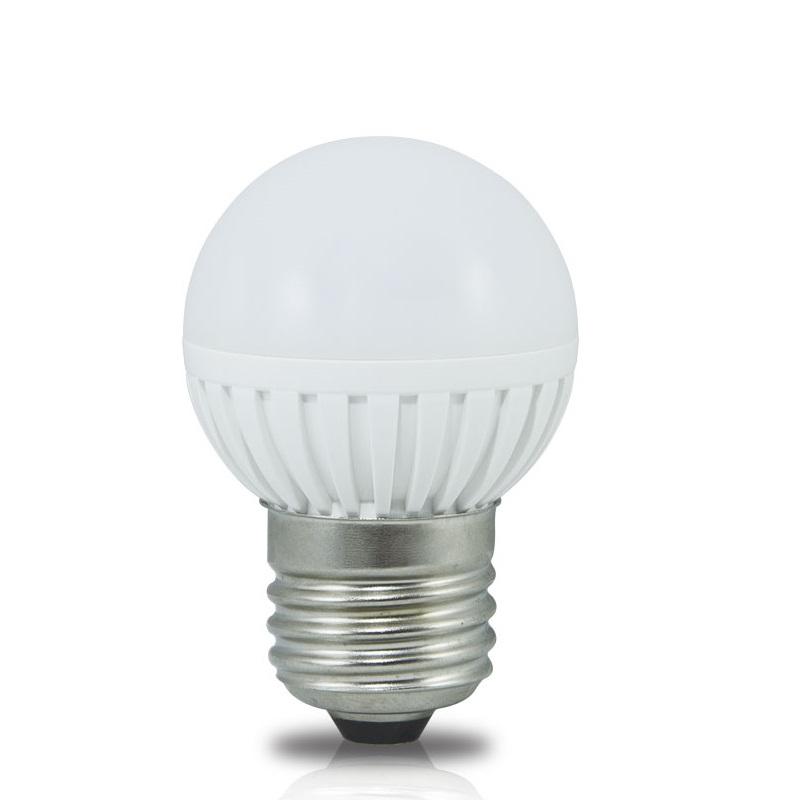 Lâmpada de LED tipo bolinha em 12 Volts e 3 Watts com 360 Lumens, código AFLED12V3W, Para Centrais de Iluminação de Emergência - Imagem 01