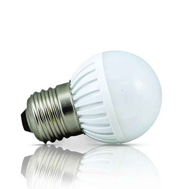 Lâmpada de LED tipo bolinha em 12 Volts e 3 Watts com 360 Lumens, código AFLED12V3W, Para Centrais de Iluminação de Emergência - Imagem 02