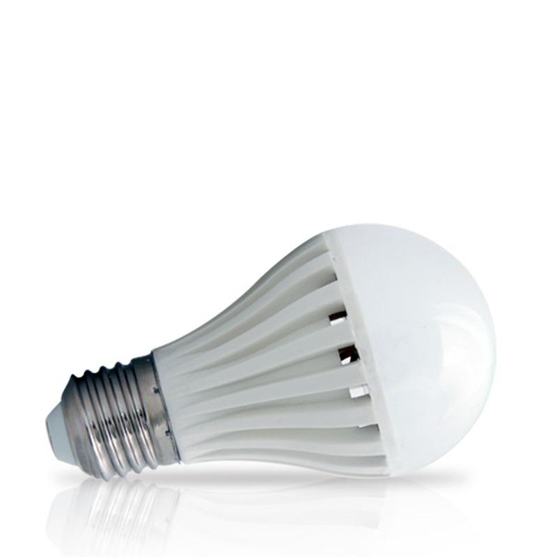 Lâmpada de LED tipo Bulbo em 24 Volts e 5 Watts com 720 Lumens, código AFLED24V5W, Para Centrais de Iluminação de Emergência - Imagem 01