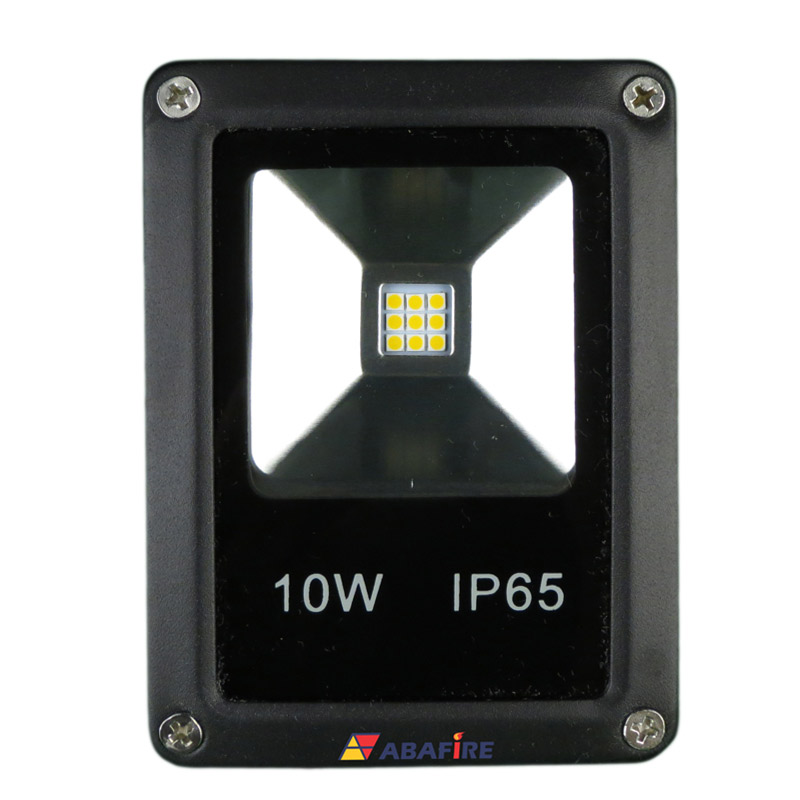 Refletor Projetor de LED com 24 Volts, 10 Watts e 1000 Lumens, Tipo Farol, código AFPROJLED24, Para Centrais de Iluminação de Emergência. Imagem 01